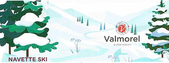 NAVETTE SKI FEISSONS-SUR-ISERE / VALMOREL