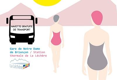 NAVETTE GRATUITE DE TRANSPORT – CURISTES